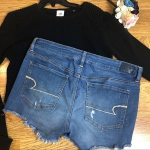 American Eagle Outfitters Shorts - American Eagle 🦅 cutoff Jean shorts. Size 14